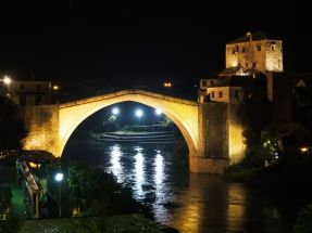 Mostar by night